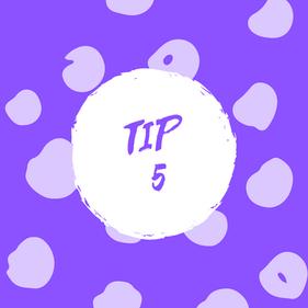Tip 5.