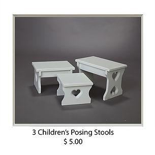 Three Children's Posing Stools.jpg