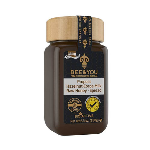 Propolis Hazelnut Milk Cocoa Raw Honey