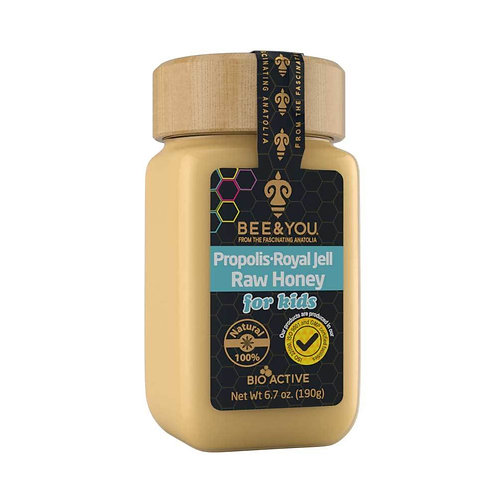 Propolis Royal Jelly Raw Honey for kids