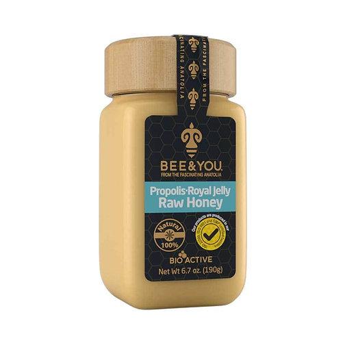 Propolis Royal Jelly Raw Honey