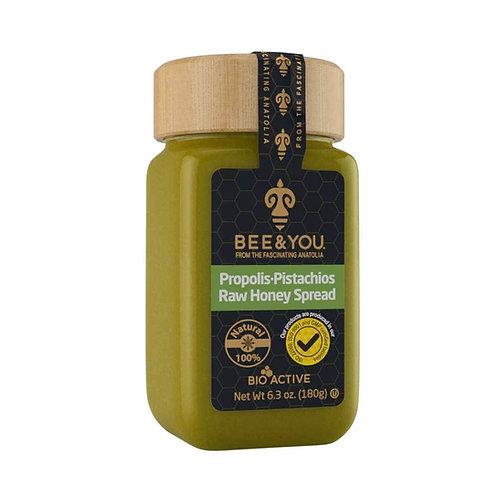 Propolis Pistachios Raw Honey Spread