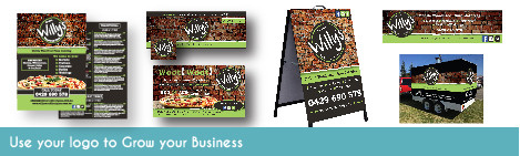 Use your logo to grow business!