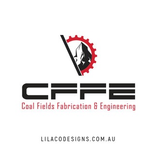 Coal Fileds Fabrication & Engineering Logo Design by Lilaco Designs