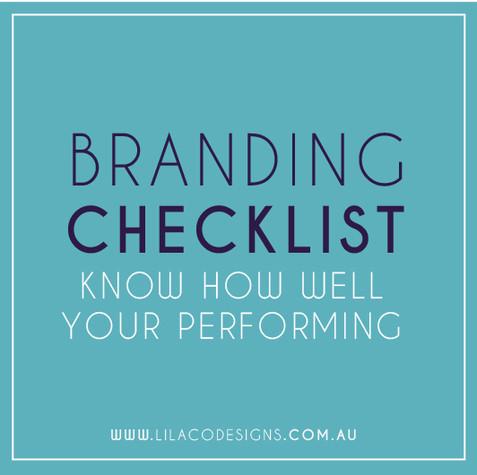 Brand Checklist: what's your score?