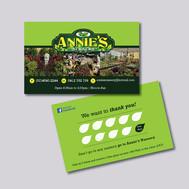 Business Card Design for Annies Nursery