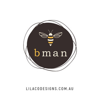 bman Logo Design by Lilaco Designs