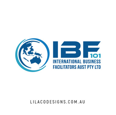 IBF 101 INternational Faciltators Logo Design by Lilaco Designs