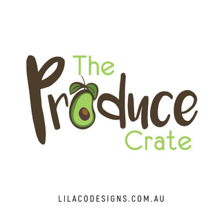 The Produce Crate Logo Design by Lilaco Designs