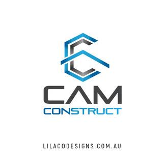 CAM Construct Logo Design by Lilaco Designs