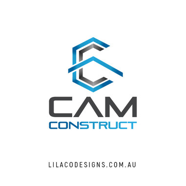 CAM Construct Logo Design by Lilaco Designs