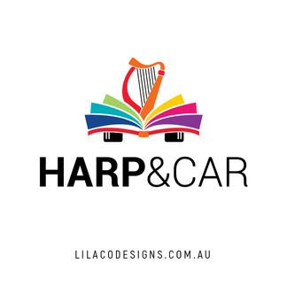 Harp & Car Logo Design by Lilaco Designs