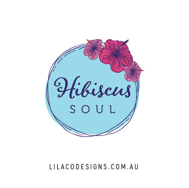 Hibiscus Soul Logo Design by Lilaco Designs