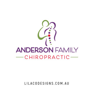 Anderson Family Chiropractic Logo Design by Lilaco Designs