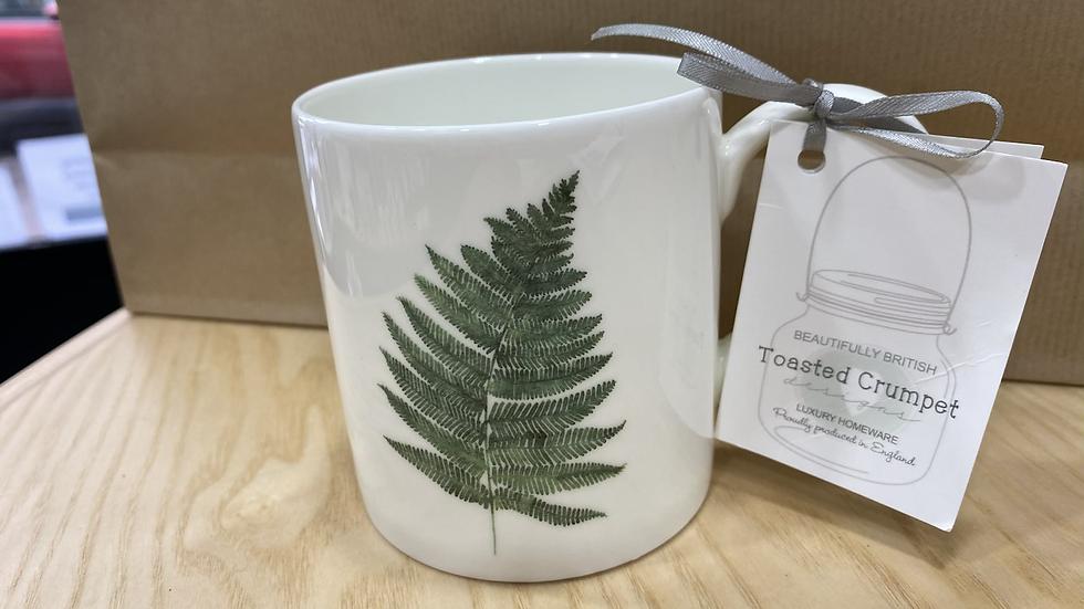 Toasted crumpet fern mug