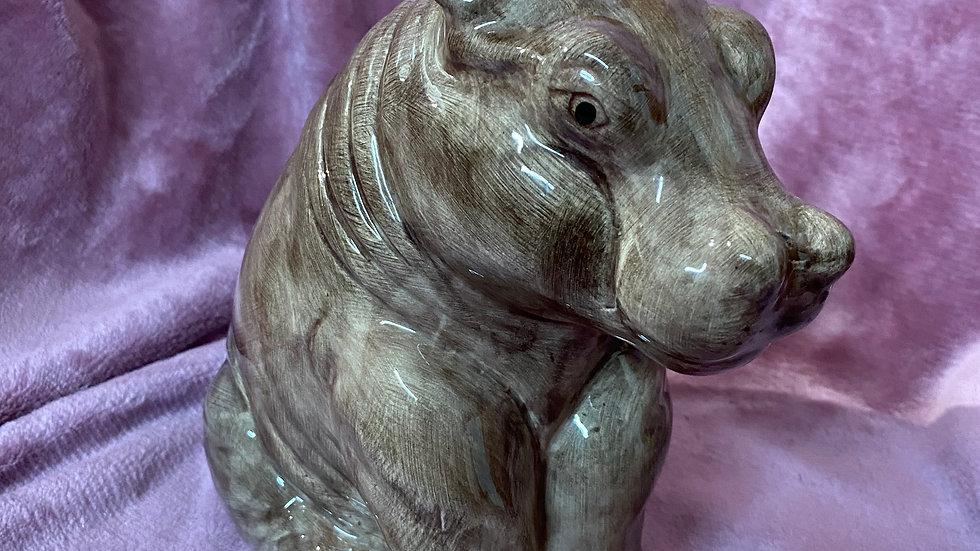 Beswick hippopotamus money box