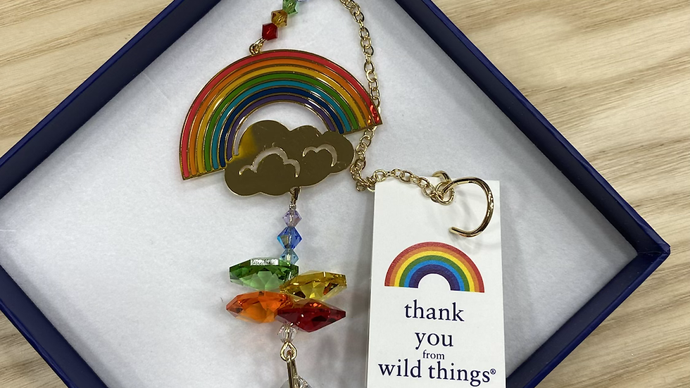 Wild things swarovski Thank you NHS raindow