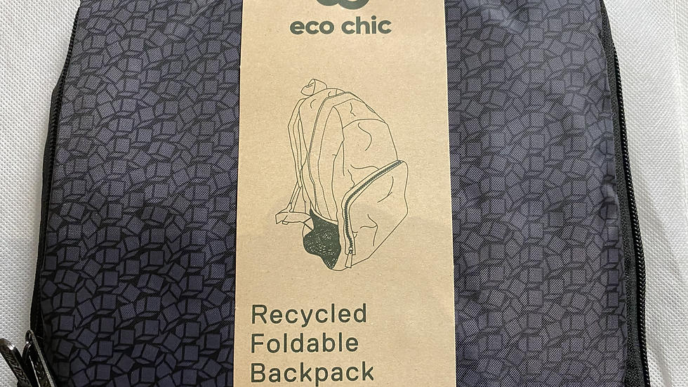 Eco Chic foldable back pack