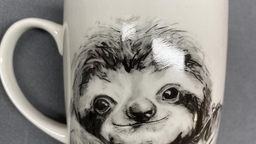Sloth china mug
