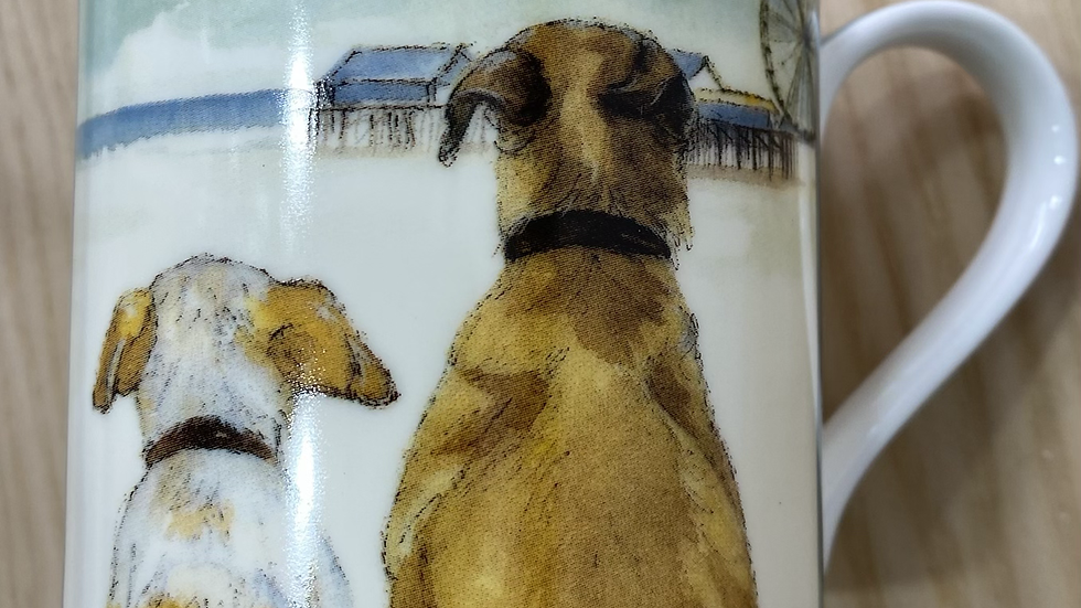 The little dog laughed china mug