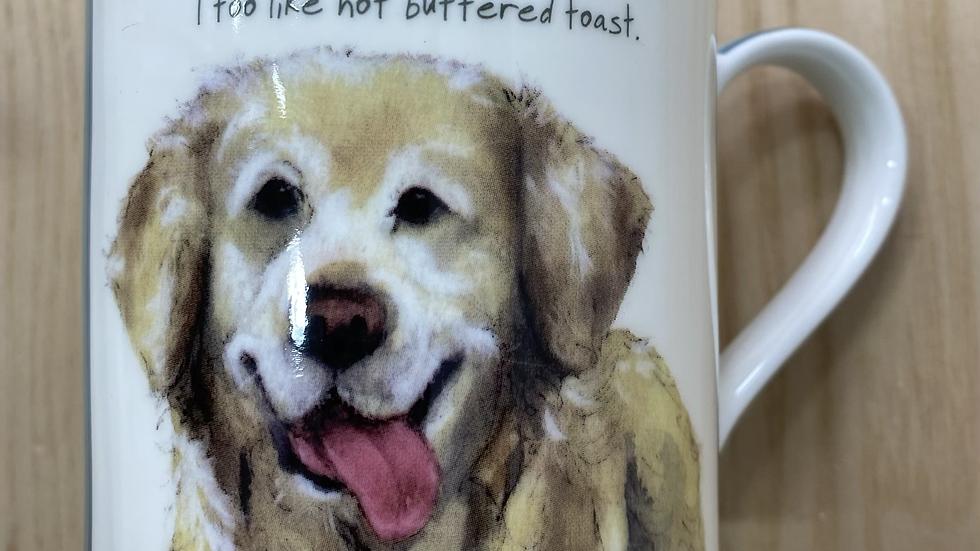 The little dog laughed mug