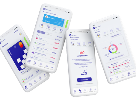 Máximo launches Personal Finance module and closes pre-seed investment round.
