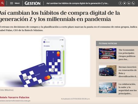 Así cambian los hábitos de compra digital de la generación Z y los millennials en pandemia.
