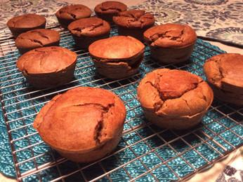 Paleo Blender Banana Muffins {Paleo, Gluten-free, Dairy-free}