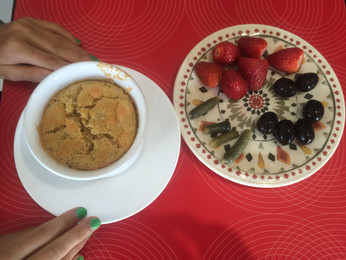 Oatmeal Soufflé  {Gluten-free, with Dairy-free option}