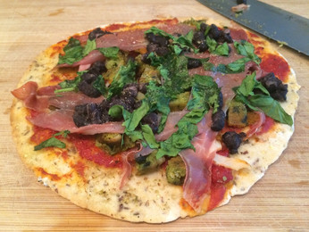 Pizza....Can It Really Be Made Healthy(er)? (Gluten-free, Dairy-free option)