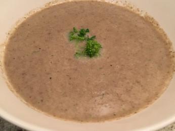 Cream of Mushroom Soup  {Gluten-free, Grain-free, Paleo Option}