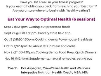 Smart Nutrition / Smart Exercise Program!!