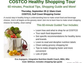 COSTCO Healthy Shopping Tour!