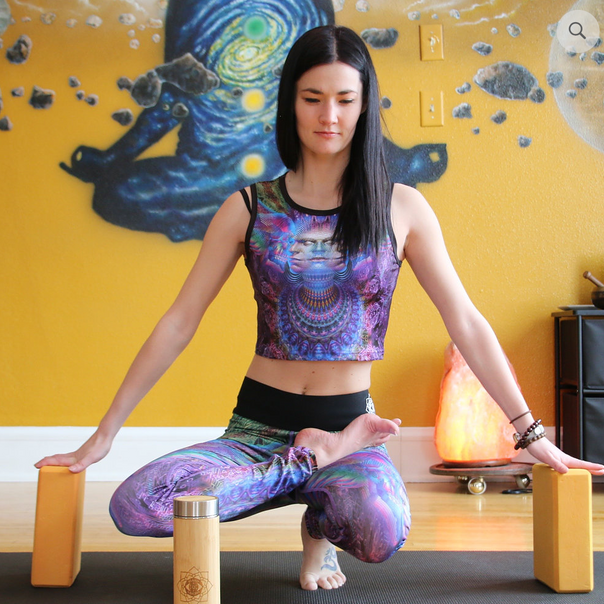 Toroidal Angel Top & Leggings