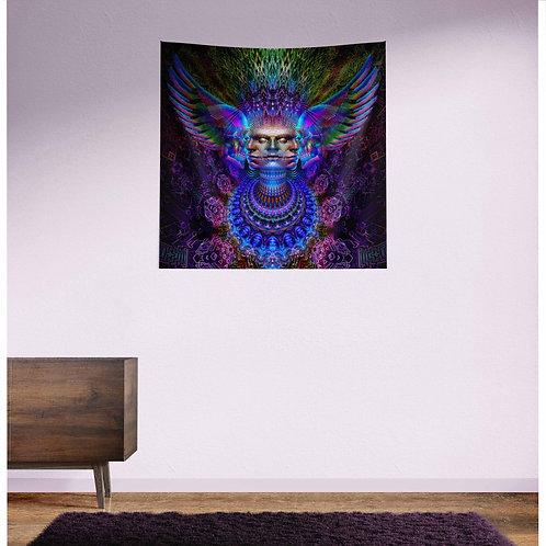 Torodial Angel UV Reactive Tapestry
