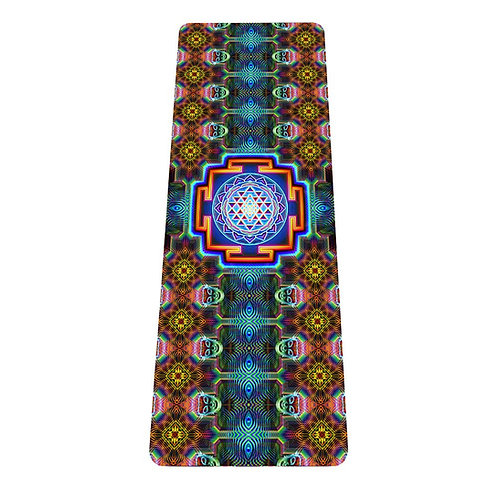Sri Yantra Yoga Mat