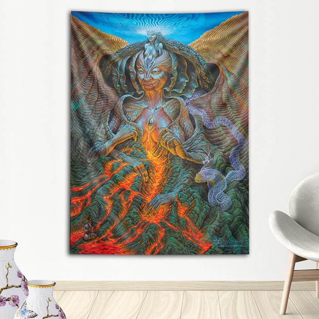 Mata Agung Tapestry