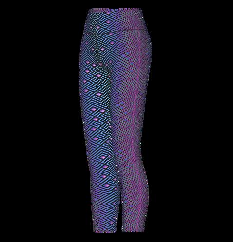 Labyrinth UV Leggings