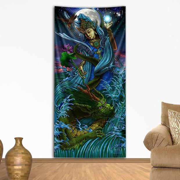Quan Yin Tapestry