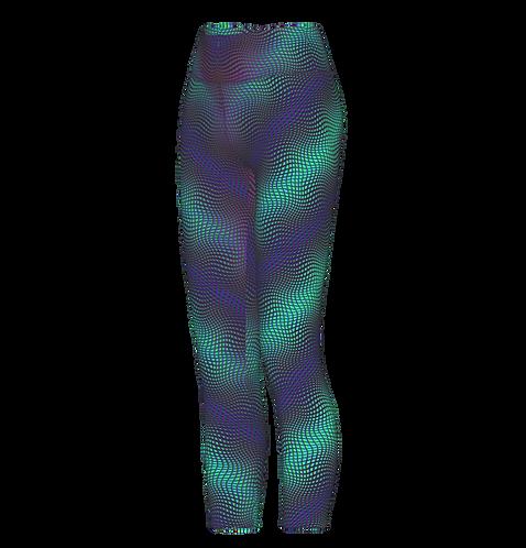 Cymatic UV Leggings