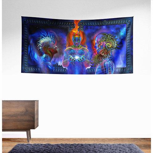Prometheus UV Reactive Tapestry