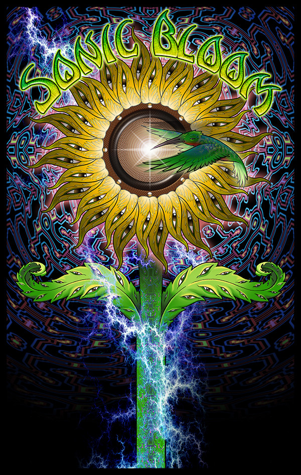 SONIC BLOOM POSTER