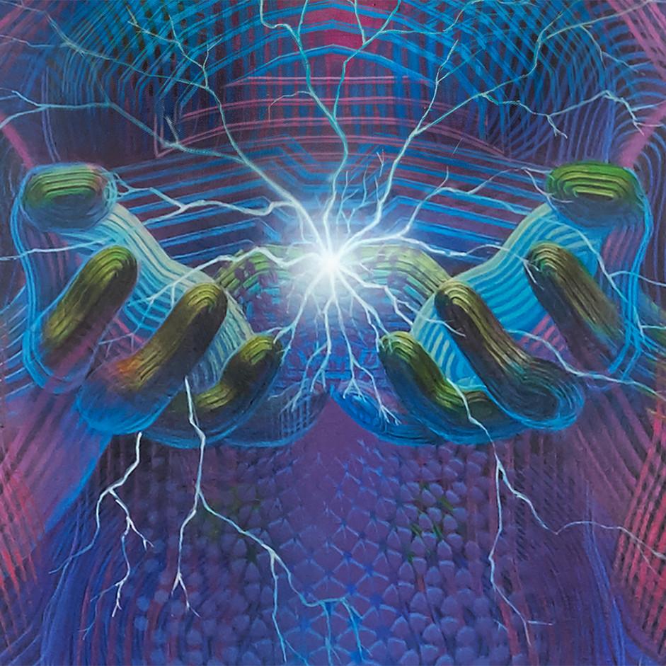 DMT Art Prometheus Painting by Artist Luke Brown Spectraleyes detail 6.jpg