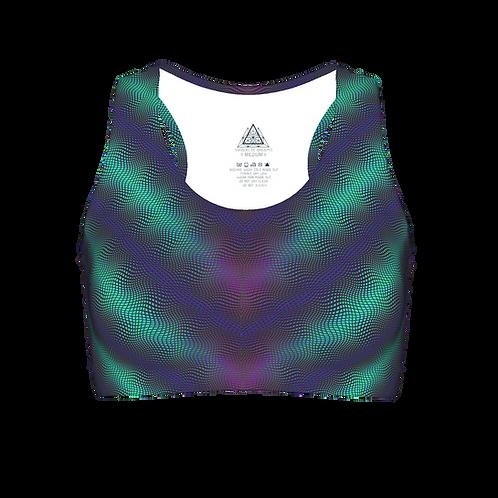 Cymatic UV Yoga Top