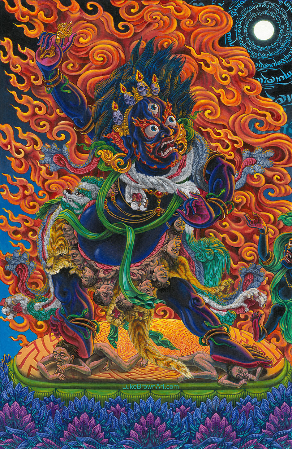 SENGE DRADOG (The Wrathful Form of Padmasambhava)