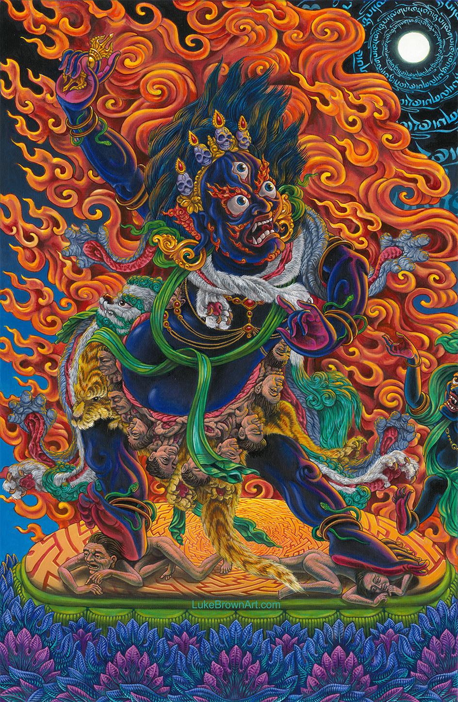 SENGE DRADOG (The Wrathful Form of Padmasambhava)