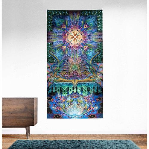 Alpha Centauri UV Reactive Tapestry