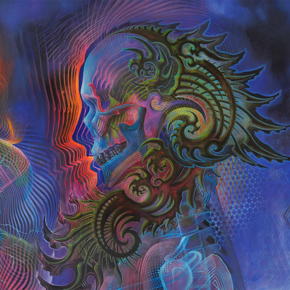 DMT Art Prometheus Painting by Artist Luke Brown Spectraleyes detail 5.jpg