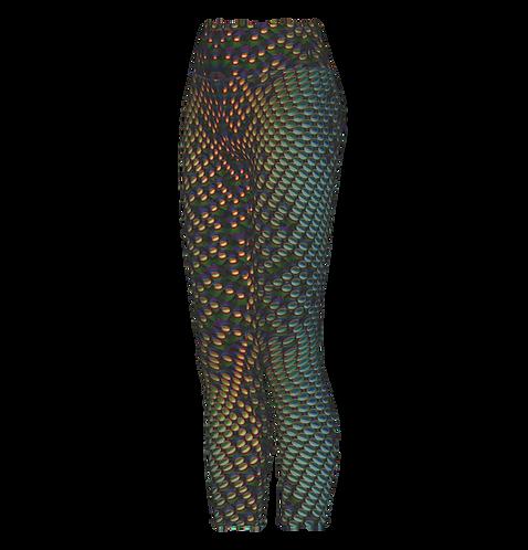 Serpentine UV Leggings