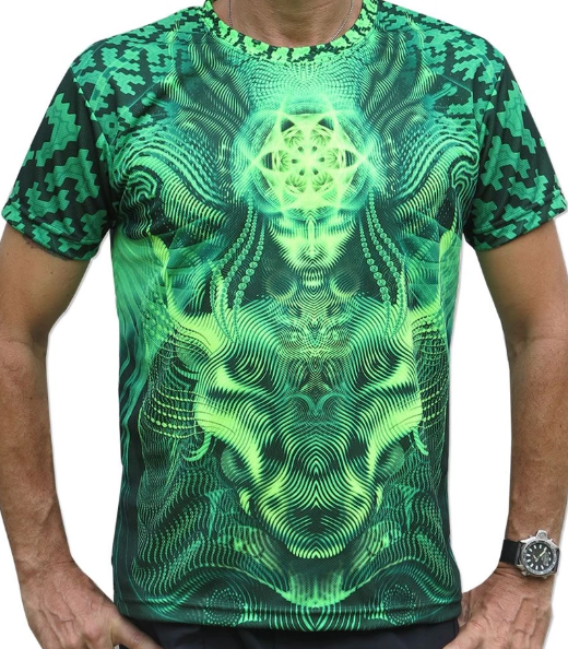 Lime Foxy UV T-Shirt